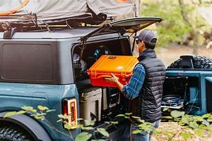 The 2021 Ford Bronco Concept Is Perfect For Camping