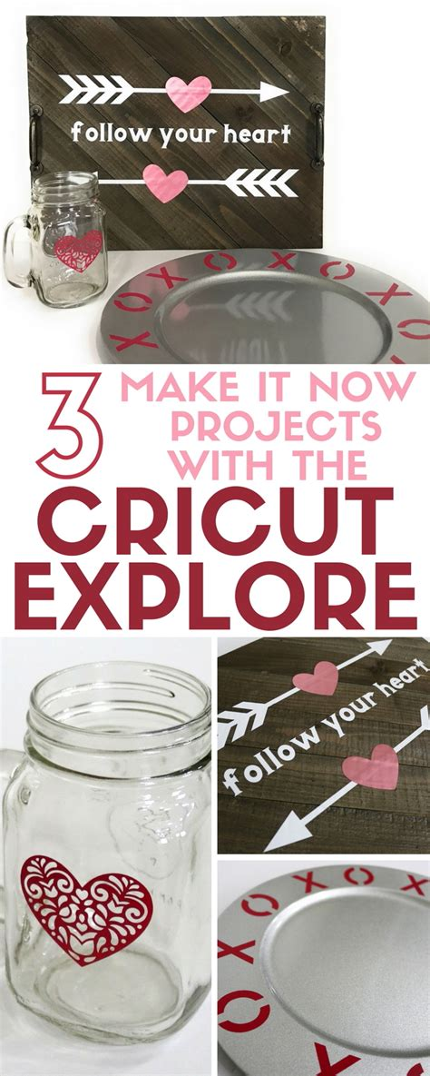 projects  cricut explore