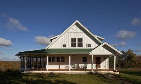 One Story Farmhouse Plans Wrap Around Porch House Style No