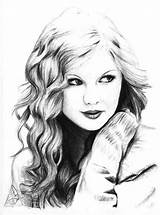 Swift Taylor Coloring Singer Pages Favorite Printable Print Printables Adults Colorluna Luna Popular Sketches sketch template