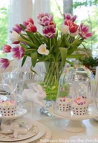 table centerpiece ideas Dining Room : Creative Easter Table Decoration Ideas to ...