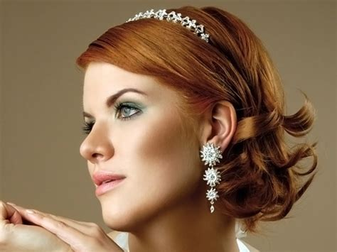 Wedding Hairstyles For Short Hair 2012