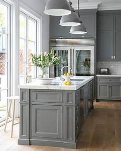 White Kitchen Cabinets Grey Marble Countertops Design Ideas