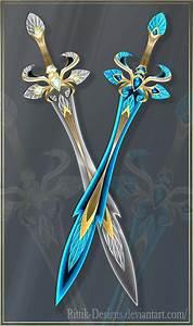 Twin swords (OPEN) Auction by Rittik-Designs on DeviantArt ...