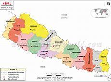 Kathmandu Map Map of Kathmandu City, Nepal