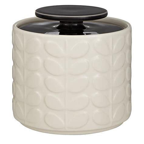 ceramic kitchen storage jars buy orla kiely raised stem ceramic kitchen storage jar 1l 7675