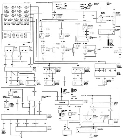 2000 Chevy Camaro Headlight Wiring Diagram by Chevrolet Camaro Rs Can I Wire Diagrams For Pass