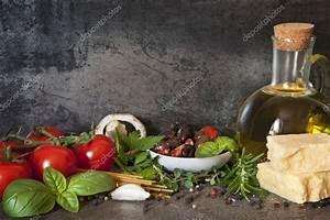 Italian Food Background — Stock Photo © robynmac #35174523