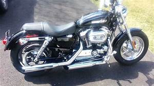 2011 Harley Davidson Sportster Stock Exhaust Pipes  Before