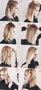 Comment Se Couper Les Cheveux Court Toute Seule : idee coiffure facile cheveux longs tendances 2019 ~ Melissatoandfro.com Idées de Décoration