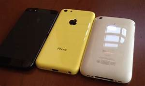 iPhone 5C video compares rear panel to existing models ...