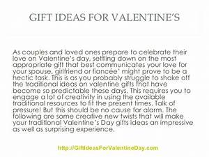 Whats A Good Valentines Day Gift