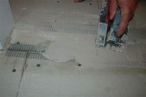 Install tile backer board on sub floor icreatablescom for Backer board floor installation