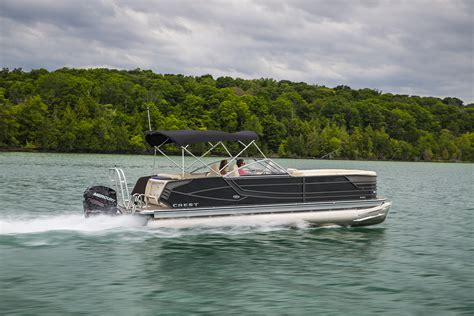 Crest Boats by All Models Crest Pontoon