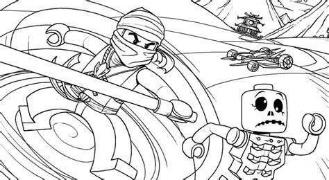 coloriage  dessin de ninjago  imprimer