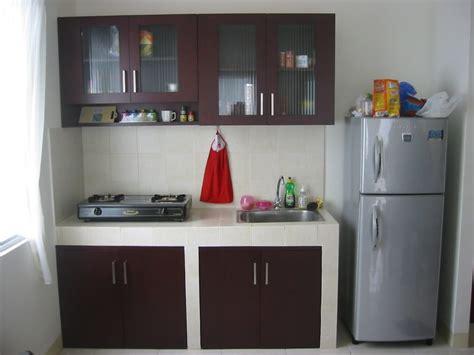 desain dapur sederhana  kitchen set renovasi rumahnet