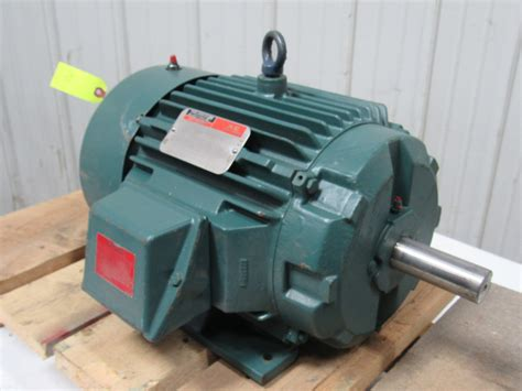 Reliance Electric Motors by Reliance Electric 7 5hp Electric Motor 3ph 230 460v 1765