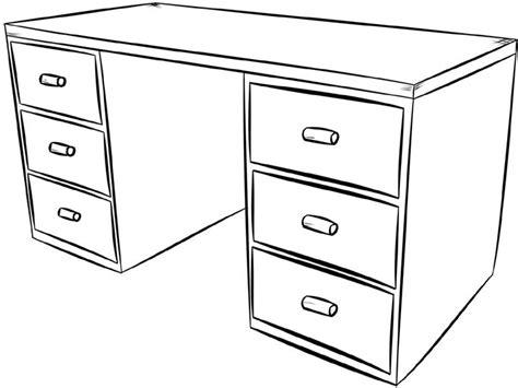 coloriage bureau coloriage étagère