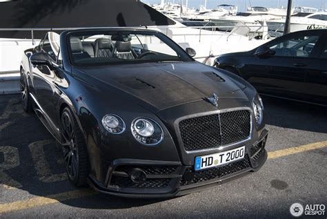 bentley gtc bentley continental gtc mansory 2015 29 may 2016