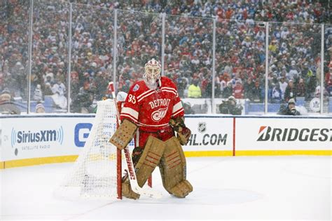 detroit red wings  reasons jimmy howard bounces