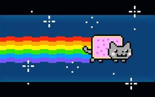 nyan cat pixel nyan cat minecraft project