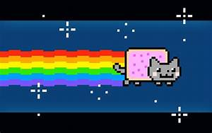 Pixel art: nyan cat Minecraft Project