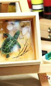 3D Resin Painting Technique Presents Unique Approach to 3D Art