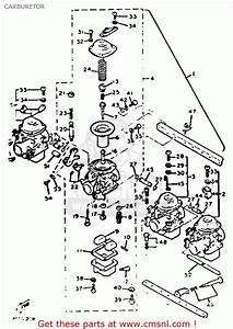 Carburetor Assembly For Xj750 Maxim 1982  C  Usa
