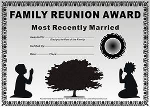 Family reunion certificates kids at prayer 20 is a free family reunion award by the family for Free printable family reunion certificates