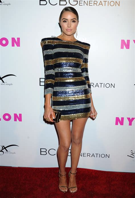 olivia culpo nylon young hollywood party  hollywood
