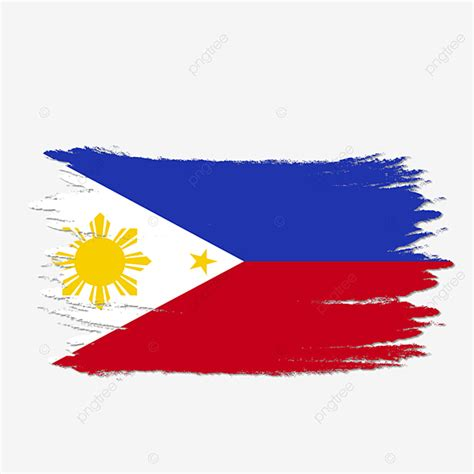 philippine flag png vector psd  clipart