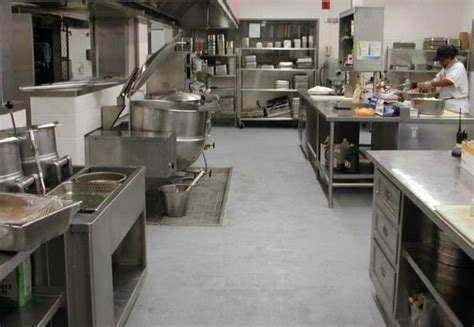 flooring considerations  commercial kitchens
