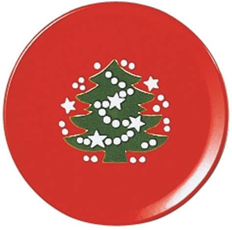waechtersbach christmas tree salad plate set of 4