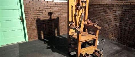 execution en direct chaise electrique états unis peine de mort le retour des bonnes vieilles