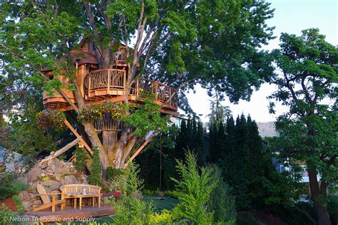 Lake Chelan Treehouse Bigdiyideascom