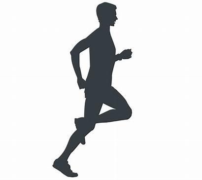 Running Silhouette Leg Common Foot Hip Injuries