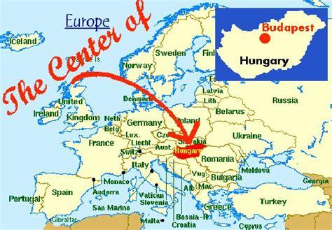 Map Of Europe Budapest Travelquazcom