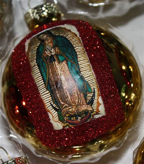 mexican christmas decorations ideas items similar to mexican ornaments decorations virgen de guadalupe catholic