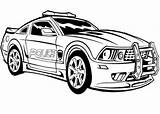 Coloring Police Everfreecoloring sketch template