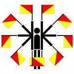 Semaphore Positions Icon Clip