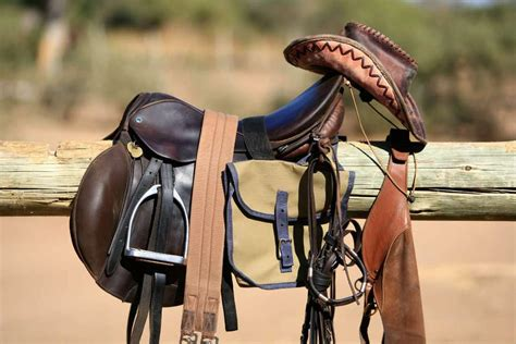 horse riding tack gear saddle equipment including bag wooden sell shutterstock cost accept leather stuff pony bits pole hanging hat