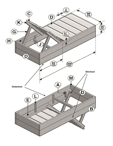 duimstok karwei zelf een ligbed van steigerhout maken karwei
