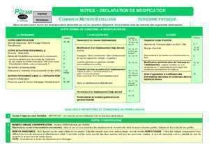 Modification De Qualification Professionnelle by T 201 L 201 Charger Formulaire P2 Cmb