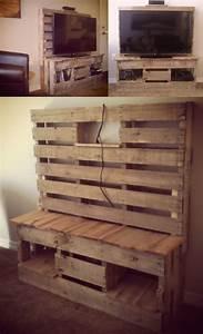 Recyclage Palette : meuble en palette le guide ultime mis jour 2019 ~ Melissatoandfro.com Idées de Décoration