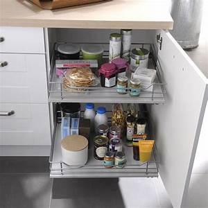 Tiroir Coulissant Cuisine : tiroir coulissant pour placard cuisine cuisinez pour maigrir ~ Premium-room.com Idées de Décoration