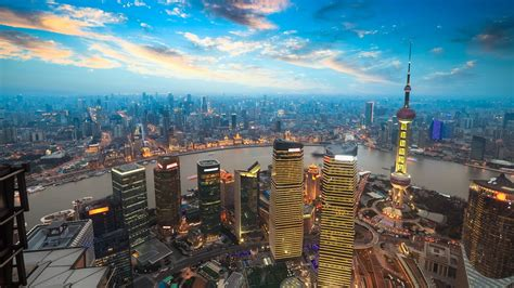 The Beautiful City Of Shanghai China Wallpapers And