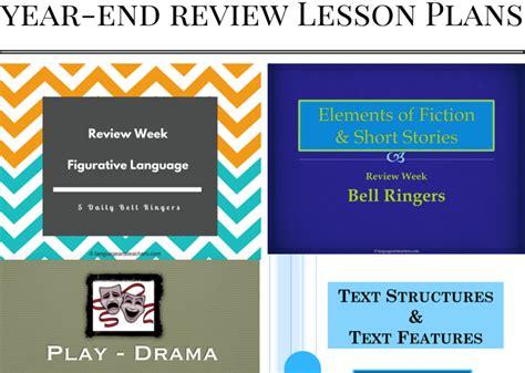 6th Grade Ela Year-end Lesson Plans!