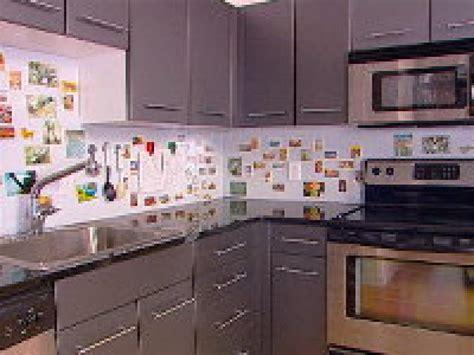 Adhesive Backsplash Tiles For Kitchen - how to creating a magnetic backsplash hgtv