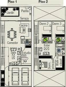 planos de casa en terreno de 160m2 planos de casas