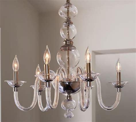 blown glass chandelier blown glass chandelier pottery barn